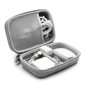 TUUTH EVA Travel Cable Bag Electronics Organizer Universal Gadget Bag Organizer für MacBook Air / Pro, USB, Ladegerät, Ohrhörer
