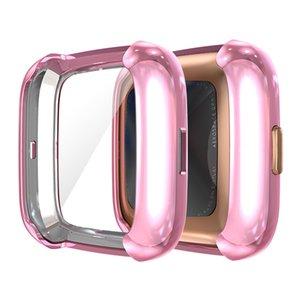 Case Cover TPU robusto paraurti All-Around di protezione paraurti Plated Shell per Fitbit Versa 2