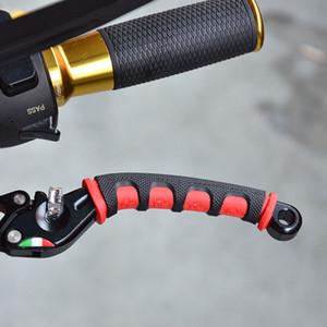 2pcs / pair Motorrad-Fahrrad-Bremsgriff Silikon-Hülsen-weiche Anti-Rutsch-Griff Sleeve Schutz Lenker-Zubehör