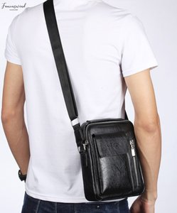 2020 Men Bag Nova Moda Negócios Bolsas de Ombro Highquality Vintage Puleather Masculino Messengerbag Negócios Corssbody Bolsas