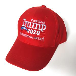 En kaliteli Trump 2020 beyzbol şapkası şapka Makyaj Amerika Büyük şapkalar Donald Trump Seçim Konusunda snapback şapka Nakış Spor açık güneşlenme şapka kapakları