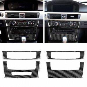 E90 E92 E93 인테리어 트림 탄소 섬유, 에어컨 CD 제어판 장식 3 시리즈 자동차 액세서리 인테리어 트럭 액세스 s60M 번호