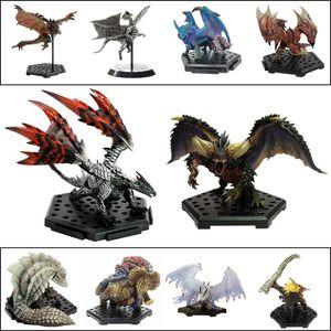 Monstro Modelos Hunter Mundial PS4 JOGO limitada PVC Ação Dragão Figura japonesa Genuine Toy Crianças Presentes T200321