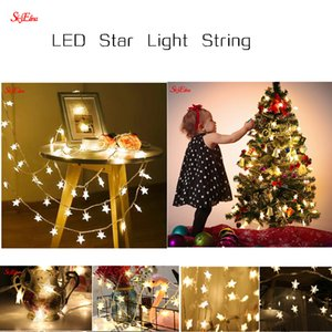 3M 20 LED Star String Lights Birthday Party Fairy Lights for Craft Fairy Valentines Christmas Holiday Party decoration 8Z MM254