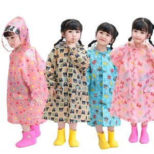 iQuqw New miki raincoat garçons les élèves de la maternelle et des bébés pour enfants salopette imperméable poncho avec des vêtements Body Bag vêtement du corps Cape