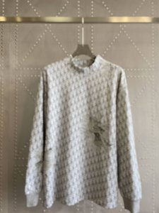 xshfbcl 20FW Italy Full of letters sweater Printed Sweatshirt Couple Casual Street Outdoor Men Women Sweater