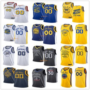 Custom Mens Kid Andrew 22 Wiggins Kevon 5 Looney 3 Poole Toscano-Anderson Alfonzo 28 McKinnie 23 Green 10 Evans 6 Smailagic 8 Burks Jerseys