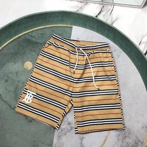 20ss New Arrival Paris designer B retro classic stripe logos Short Pants Men Women Casual sport Jogger Sweatpants Outdoor Shorts 7.4