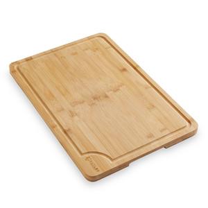"Doğrama Block Oyma 18 ""x12"" Bambu Kesme Kurulu Büyük Ahşap Mutfak Kasap"