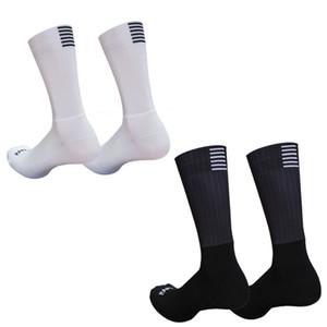 Professione Ciclismo Calze Rapha Pro Team Aero calzini respirabile comodo Anti Slip senza saldatura silicone corsa della bici di sport