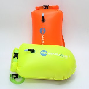 4nR8x Inflatable floating Inflatable vest waistcoat waistcoat Maijia thousand MARJAQE floating and fart bag rescue swimming bag thickened PV