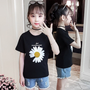Pure Cotton Girls big cartoon Korean loose new style Pure Cotton Girls big cartoon Korean loose new style T-shirt T-shirt