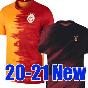 20 21 Galatasaray Futebol Jerseys 2020 2021 Gomis Linnes Cigerci Belhanda Fernando FeGhouli Donk Home Away Football Shirts