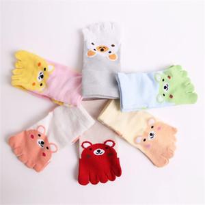 Spring and Autumn Children's Socks Cheap Stuff Cotton Baby Socks Cartoon Animal Girl and Boy Cute Five Fingers