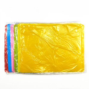 Yeni Renk Şeker Silikon Pad Çocuk D2 8QF Placemat Kare Moda Masa Mat 40x30cm Ev Mobilya Sıcak Nokta Belgesi 3 yiyin