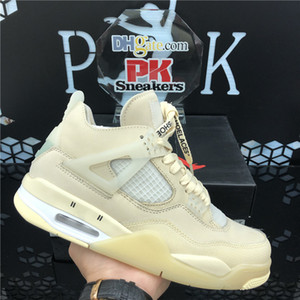 2020 New Arrival Wholesale Jumpman 4 4s White Cement Cactus Jack Men Womens Basketball Shoes Neon Court Purple Bred Mens Trainers Sports Sne