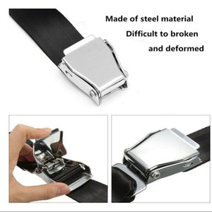 Adjustable Airplane Seat Safe Belts Plane Seatbelt Extenders Aerospace Seat Part Metal Bukcle Polyester Tape Seat Belt Extenders