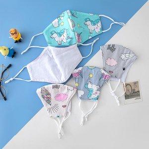 I bambini Mascarilla lavabile Bocca antipolvere respiratore Reuseable panno maschera di Stella Palloncino Pony Picture bambini Uso speciale 3 4QY D2