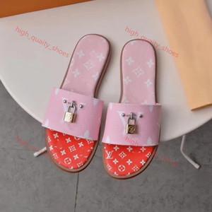 2020 slippers women's sandals casual walking beach shoes slippers massage slippers flat shoes summer women Xshfbcl + dust bags