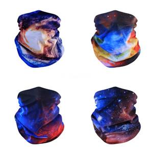 Pesca Cara unisex 3pcs Impresión mágica del pañuelo de cuello Er Bufanda de ciclo de Headwear de múltiples funciones de la bufanda de deportes al aire libre Accesorio # 978