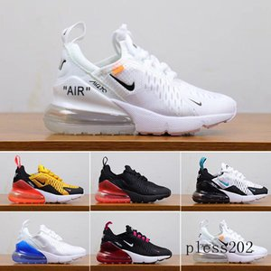 2019 Kids Athletic Shoes Children 27c Basketball Shoes Wolf Grey 27c Toddler Sport Sneakers for Boy Girl Toddler Chaussures Pour Enfant S1W8
