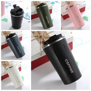 380ml 510ml Stainless Steel Coffee Thermos Mug Portable Car Vacuum Flasks Travel Thermal Water Bottle Tumbler Insulated Bottle