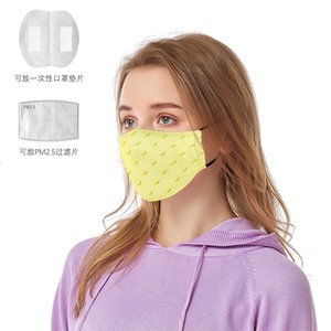 Adult and children fruit cloth mask dust-proof washable mask PM2.5 filter can be placed