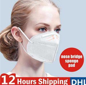 ¡En stock! Envío libre de DHL máscara anti-vaho PM2,5 cara máscaras de filtro de la máscara a prueba de polvo Respirador