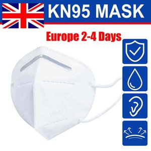 UK Stock! Folding Face Mask With Qualified Certification Anti-dust Face Masks Wholesale Fast free Shipping to Europe