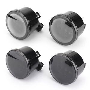 Areyourshop 자동차 2PCS 전면 펜더 렌즈 LED 신호 빛 총회에 맞추기 위해 랭글러 07-15 자동차 자동차 액세서리 부품을 돌려