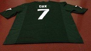 Men # 7 Demetrious Cox Michael Geiger Michigan State Spartans Alumni Hochschule Jersey S-4XLor Gewohnheit jeder Name oder Nummer Jersey