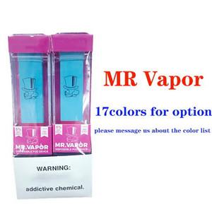 MR VAPOR Одноразовые устройства MR Vapor Vape Pen Бобы Starter 280mAh Аккумулятор 1,3 мл картриджи Ezzy плюс устройства одноразовые Vape предварительно заполненные