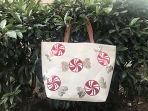 9styles Christmas Girls Sequin Handbags Xmas Designer shoulder Bag Shopping Large Capacity Storage Bags Ladies Christmas Totes FFA3224