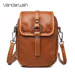 VANDERWAH New Small Shoulder Bag Повседневная сумка Crossbody сумки для женщин телефона Карман девушки кошелек Мини сумки посыльного Sac A Main