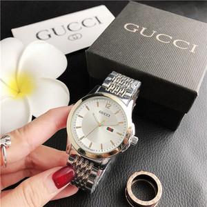 G Fashion Damen rosa Uhrdiamant Gucci Uhren Frauen Designer Crystal Rose Goldarmband-Uhr-Edelstahl Zifferblatt