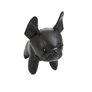 İyi Satış 6 Stylet Kanunu Köpek kolye ve Anahtarlık Monogram Canvas Kumaş Malzemesi Altın Metal Araba Süsler Anahtarlık ve Çanta kolye