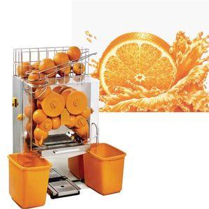 Hot vente commerciale 220 V orange Juicer automatique Citron Pomelo jus de pamplemousse Squeezing machine Maker jus d'orange