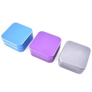 Alloy Herb Grinders 2 Levels Square Practical Smoke Crusher 55mm Smoking Accessories For Wedding Gift 17 5jl E1