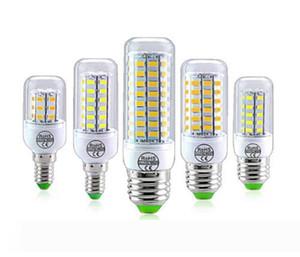 E14 E27 LED Bulb Light 110V-220V 8W 12W 16W Ampoule LED Lamp SMD 5730 Corn Bulb Bombilla Energy Saving No Flicker For Kitchen