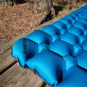 Sleeping Pad Et Camping Camping Randonnée ultralégères Compact Air Pad gonflable Lightweight Sleeping Mat Portable Outd dGSu #