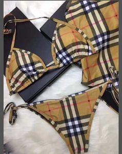 2020 Tasarım Yeni Stiller İki adet Kadın Bikini Tasarımı Mayo seksi mayolar Sıcak Kız Mayo Kadınlar Swim Suit Bikiniler