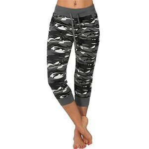 Yoga Leggings Ladoes Camo Push Up Sport Pants Women Gym Low Waist Camouflage Printed Fitness Stretch Tights Wadenlänge Hosen