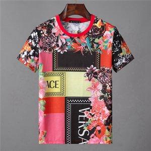 20SS Luxury Anniversary Swarovski-Box L0go Tee Street Commemorative Mens Designer T Shirt Womens Round Collar Black White Red Shorts