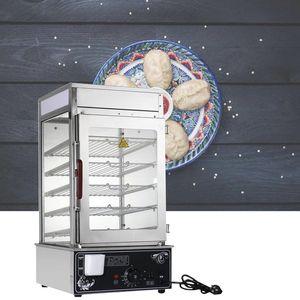 220V / 1200W стекла пропаривания шкафа булочка пары хлеб термостат Коммерческого рабочий стол большая емкости пара Бун машины