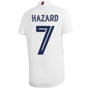 20-21 Özelleştirilmiş 7 tehlike Tay Kalite Futbol Jerseys yakuda online mağaza 10 Modric 9 BENZEMA 8 Kroos 22 ISCO Nacho 6 Custom 11 BALYA giyer