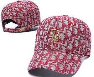 الشحن المجاني القبعات مصمم مطرز الأزياء قبعة عالية من الذكور والإناث - نهاية القبعات قبعة بيسبول يمكن تعديلها لثمانية جودة اختياري