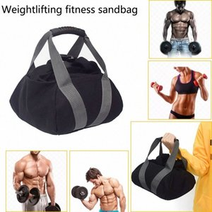 PORTABLE SANDBAG ADJUSTABLE SAND KETTLEBELL SOFT SAND BAG WEIGHT WEIGHTLIFTING DUMBBELL FOR GYM FITNESS BODY BUILDING YOGA cG93#