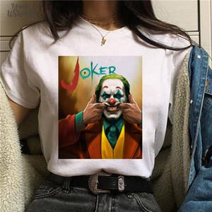 Joker Joaquin Phoenix Funny T Shirt Men Women Kid Summer New White Casual Homme Tshirt Unisex Polyester Streetwear T Shirt