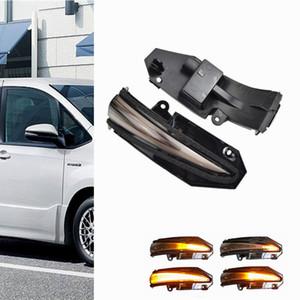 LED dynamique CLIGNOTANTS Lumière Eau vive Feu clignotant Flashing Light pour Toyota RAV4 MK4 Highlander Kluger Noah R80 4Runner MK5