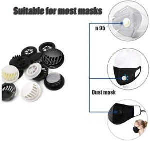 Anti Dust Face Mouth Face Protection Filter Air Breathing DIY Mask Cover Valves Accessories for Kids Adult Outdoor dhl